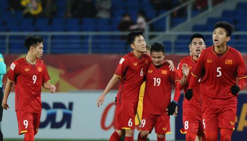 Việt Nam đang có nhiều cơ hội để giành vé đi tiếp. Ảnh: AFC