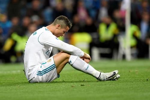 Chân sút số một Real, Ronaldo mới có bốn bàn tại La Liga mùa này. Ảnh: AFP.