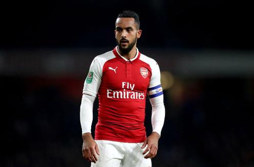 Walcott là trường hợp để lại nhiều tiếc nuối ở Arsenal khi không phát triển được như kỳ vọng. Ảnh:Reuters.