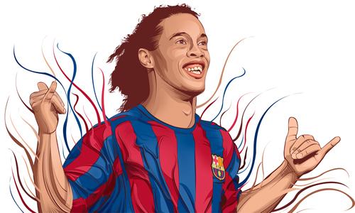 Ronaldinho giải nghệ: Tạm biệt nụ cười sáng cả góc sân