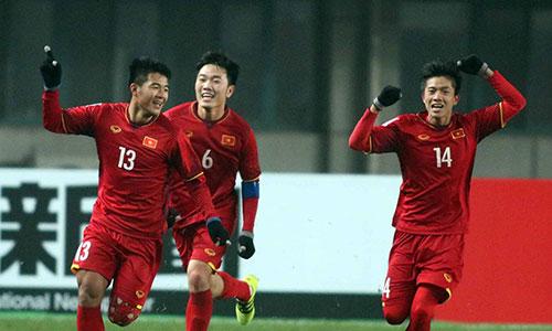 U23 Việt Nam tạo nên luồng gió mới của VCK U23 châu Á. Ảnh: Anh Khoa.