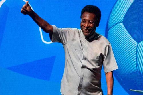 Pele mới xuất hiện hồi đầu tuần khi khai mạc giải vô địch bang Rio. Ảnh: DS