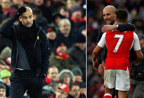 Sanchez có thể sẽ là số 7 mới của Man Utd, thay vì tái hợp với Guardiola.