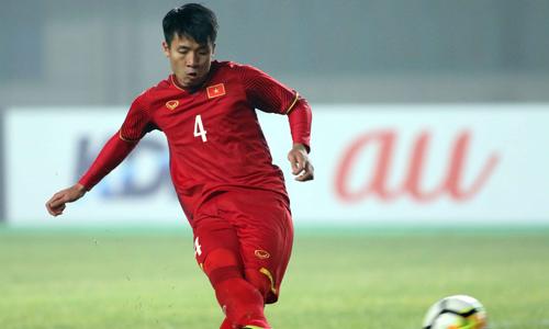 Trung vệ Tiến Dũng xung phong đá quả 11m quyết định cho U23 Việt Nam