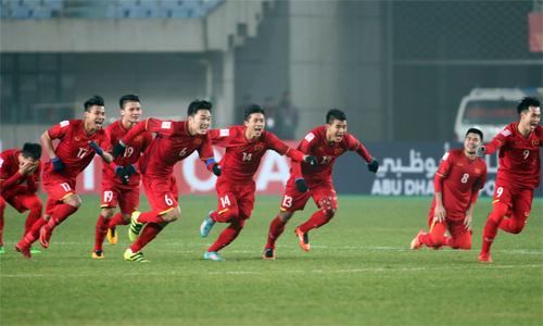 Chiến tích của U23 Việt Nam mang lại niềm vui cho tất cả người hâm mộ Đông Nam Á. Ảnh: Anh Khoa.