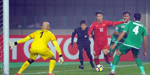 U23 Việt Nam tạo ra câu chuyện cổ tích ở giải U23 châu Á. Ảnh: AFC