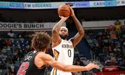 DeMarcus Cousins lập 'siêu triple-double', giúp Pelicans thắng ngược