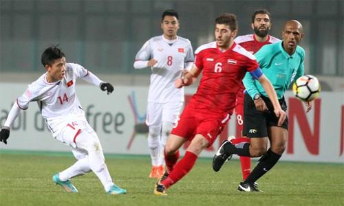 Việt Nam 0-1 Qatar (hết hiệp một): Phạt đền tranh cãi