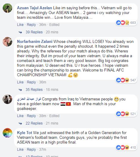 Người hâm mộ châu Á lại phải ngả mũ vì Việt Nam.