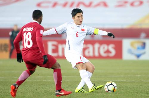 Xuân Trường cùng U23 Việt Nam viết lên câu chuyện cổ tích tuyệt đẹp tại giải U23 châu Á. Ảnh: Anh Khôi