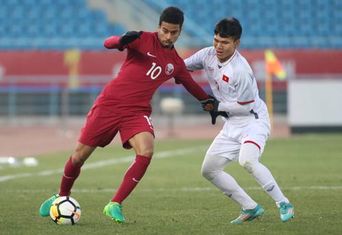 Qatar hai lần dẫn trước nhưng chung cuộc phải nhìn Việt Nam giành vé vào chung kết. Ảnh: Anh Khoa