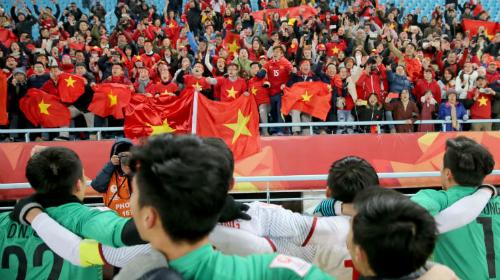U23 Việt Nam là sự kết hợp của hai lứa cầu thủ thành công gần đây. Ảnh: AFC.