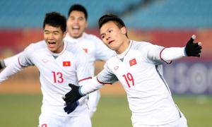 Quang Hải trong Top 5 cầu thủ Đông Nam Á ở U23 châu Á