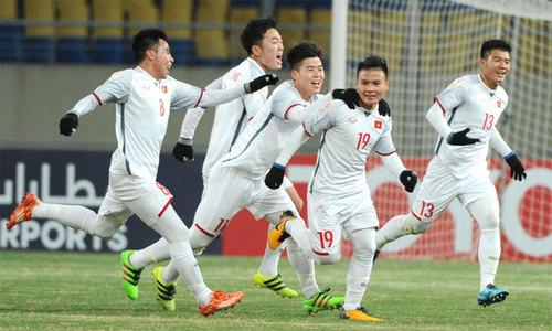 'Thế hệ vàng bóng đá Việt Nam đã ra đời'