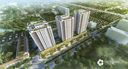 Phối cảnh dự án mà Cenland mong muốn gửi tặng căn hộ tới HLV Park Hang Seo.