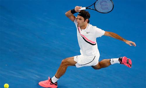 Federer dễ dàng giành vé vào chơi trậnchung kết Grand Slam thứ 20 trong sự nghiệp. Ảnh: Reuters.