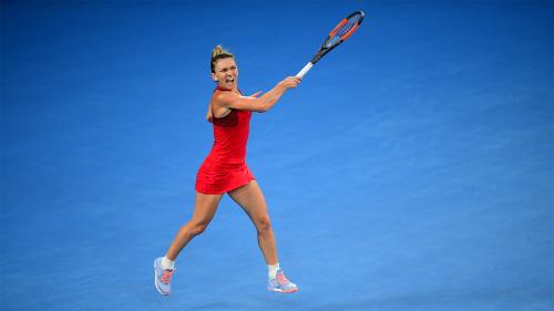 Halep cho rằng Wozniacki thắng xứng đáng. Ảnh: Tennis Australia.