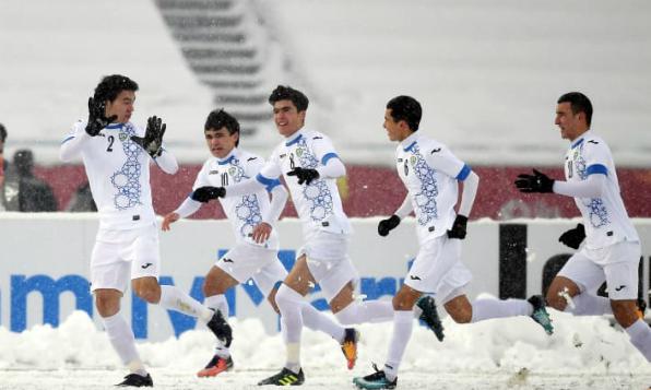 Uzbekistan lên ngôi thuyết phục sau màn trình diễn ấn tượng ở giải U23 châu Á. Ảnh:AFC.