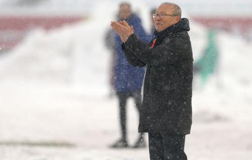 HLV Park Hang-seo, kiến trúc sư trưởng cho kỳ tích của U23 Việt Nam. Ảnh: AFC