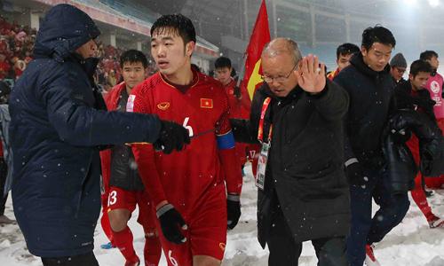 HLV Park Hang-seo là chất xúc tác quan trọng nhất giúp U23 Việt Nam lột xác chỉ trong ba tháng cầm quân. Ảnh: Anh Khoa.