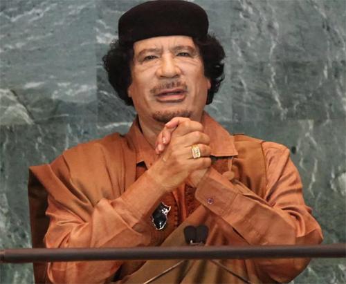 Gaddafi từng có 42 năm đầy quyền lực tại Libya, quốc gia Bắc Phi sở hữu nhiều mỏ dầu. Ảnh: Reuters