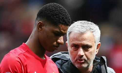 Mourinho khẳng định Rashford là một phần quan trọng của Man Utd. Ảnh: AFP.