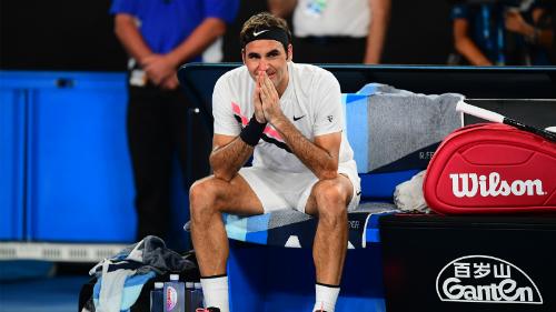 Federer vừa đoạt Grand Slam thứ 20 ở Australia Mở rộng. Ảnh: Tennis Australia.