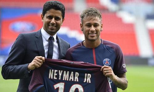 Bản hợp đồng kỷ lục của Neymar tác động đến giá cầu thủ trên thị trường. Ảnh: AFP.