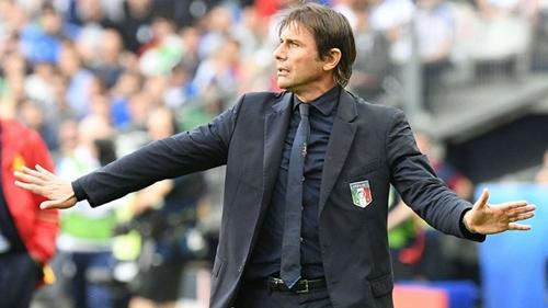 Conte từng dẫn dắt Italy trong hai năm. Ảnh: Reuters.