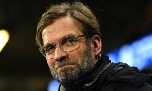 Klopp cho rằng top bốn là mục tiêu khả dĩ với Liverpool. Ảnh: Reuters.