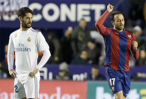 Levante giữ một điểm ở lại sân nhà. Ảnh: Marca