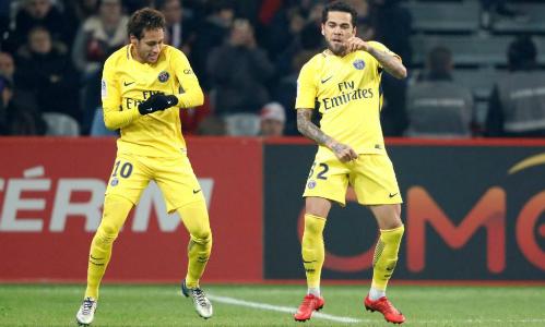 Neymar vẫn đang thăng hoa cùng PSG. Ảnh: Reuters.