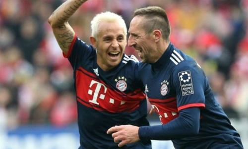 Ribery khai hỏa, Bayern tiếp đà thắng lợi. Ảnh: AFP.