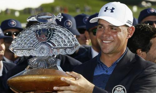 Gary Woodland đoạt danh hiệu PGA Tour đầu tiên kể từ năm 2013. Anh đã có ba danh hiệu PGA Tour trong sự nghiệp. Ảnh: Reuters.
