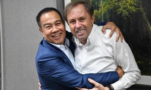 Rajevac (phải) sẽ dẫn dắt Thái Lan ở AFF Cup 2018 và Asian Cup 2019. Ảnh: PR.