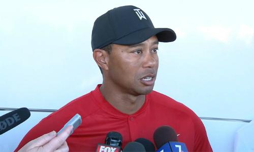 Tiger Woods ủng hộ cách chia tiền bằng nhau giữa nam và nữ trong các sự kiện golf chuyên nghiệp. Ảnh: PGA Tour.