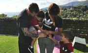 Messi sớm tiết lộ tên con trai thứ ba