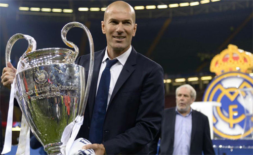 Zidane là lá bùa thành công của Real tại Champions League. Ảnh: Reuters