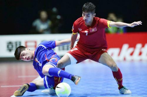 Futsal Việt Nam lần thứ ba liên tiếp lọt vào tứ kết giải châu Á.