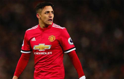 Án phạt không ảnh hưởng đến việc Sanchez thi đấu cho Man Utd. Ảnh: Reuters