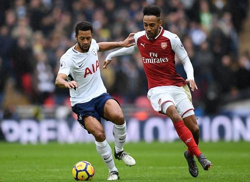 Tân binh Aubameyang chưa đáp ứng được kỳ vọng của Arsenal. Ảnh: Reuters.