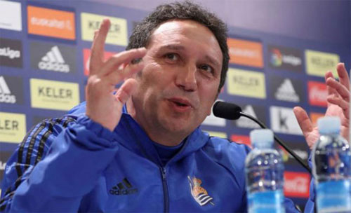 Sacristan muốn thắng ngay tại Bernabeu. Ảnh: Marca