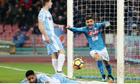 Napoli vùi dập Lazio, đòi lại ngôi đầu Serie A