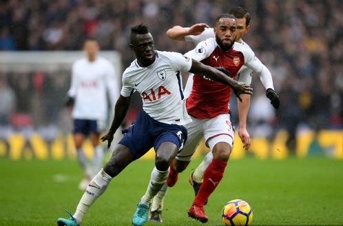 Davison Sanchez là thương vụ chất lượng của Tottenham. Ảnh:AFP.