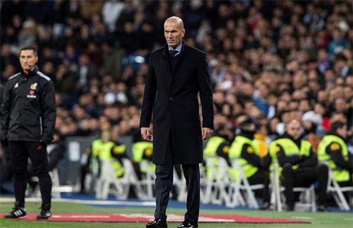 HLV Zidane và các cầu thủ khôi phục được vị thế trước ngày tiếp PSG.