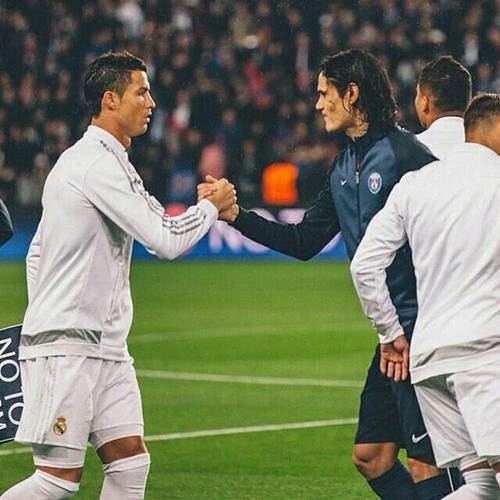 Cuộc đối đầu giữa Cavani và Ronaldo giữa tuần này rất đáng chú ý. Ảnh: Reuters.