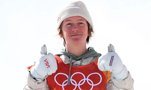 Red Gerard chiến thắng ở nội dungslopestyle. Ảnh: AFP.