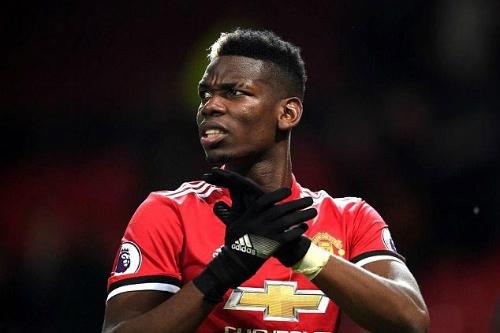 Pogba bị chỉ trích khi không duy trì vị trí khiến Man Utd thường xuyên đối mặt phản công. Ảnh:AFP.