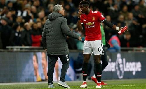 Pogba đang không có phong độ tốt. Ảnh: AFP.