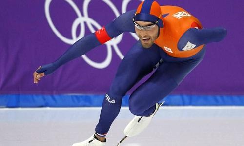 Kjeld Nuisgiúp Hà Lan tiếp tục sự thống trị ở môn trượt băng tốc độ. Ảnh: Reuters.